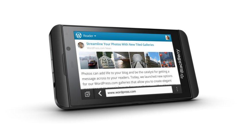 Recenze BlackBerry Z10