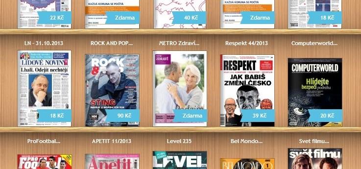 O2 Čtení promění váš mobil či tablet v novinový stánek