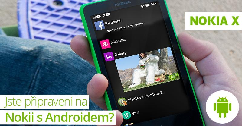 Nokia se pustila do Androidu. K dobré ceně přidá navigaci