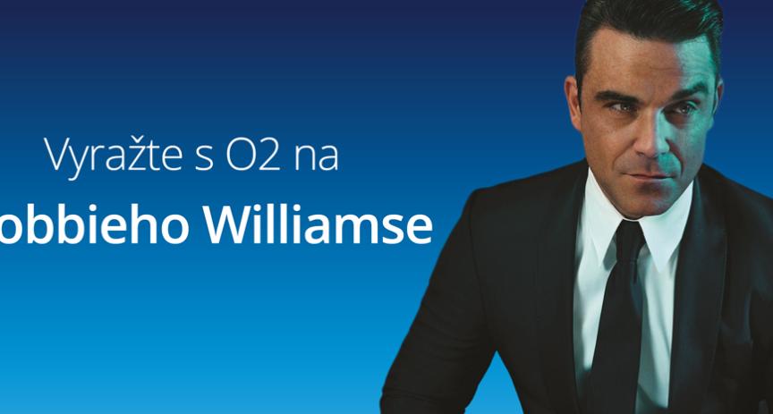 Soutěž o lístky: Robbie Williams už v sobotu v O2 areně.