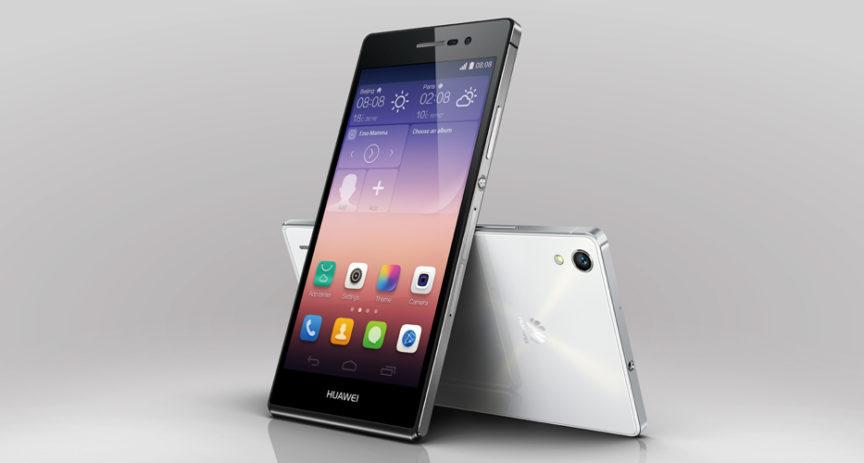 Krasavec z Číny. Huawei představil svůj vlajkový model P7