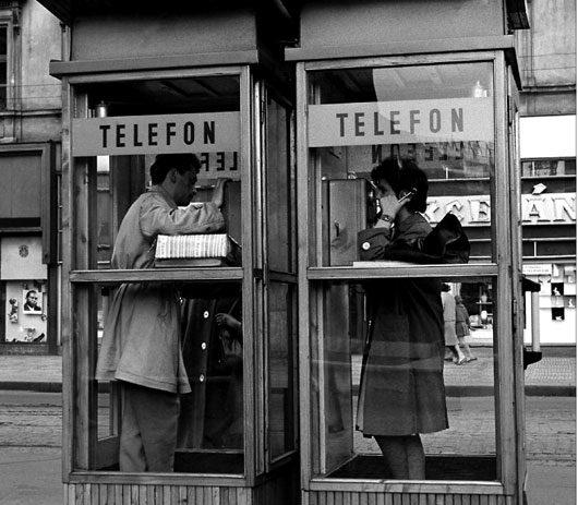 Ha hej, tady telefonní budka