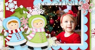 Xmas Photo Frame - vánoční fotorámečky
