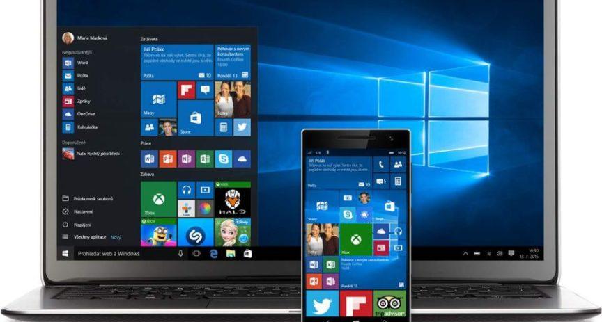 Lidé stahují Windows 10. Upgrade zvýšil provoz v naší síti.