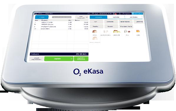 eTržby snadno, spolehlivě a bez zvýšení nákladů, to je O2 eKasa