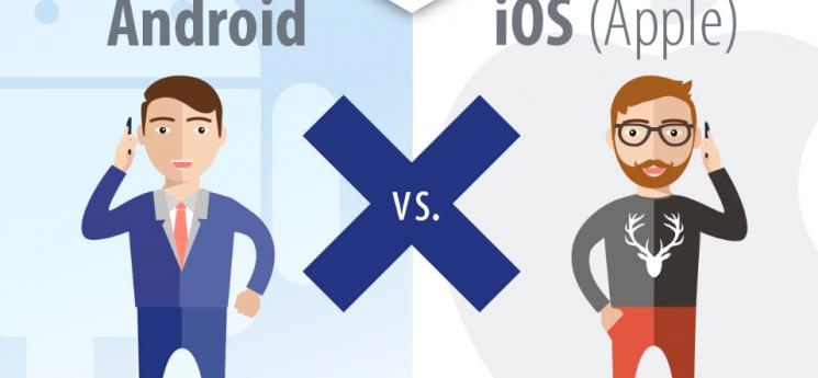 iOS proti Androidu: uživatelů jednoho je víc, ti druzí jsou aktivnější