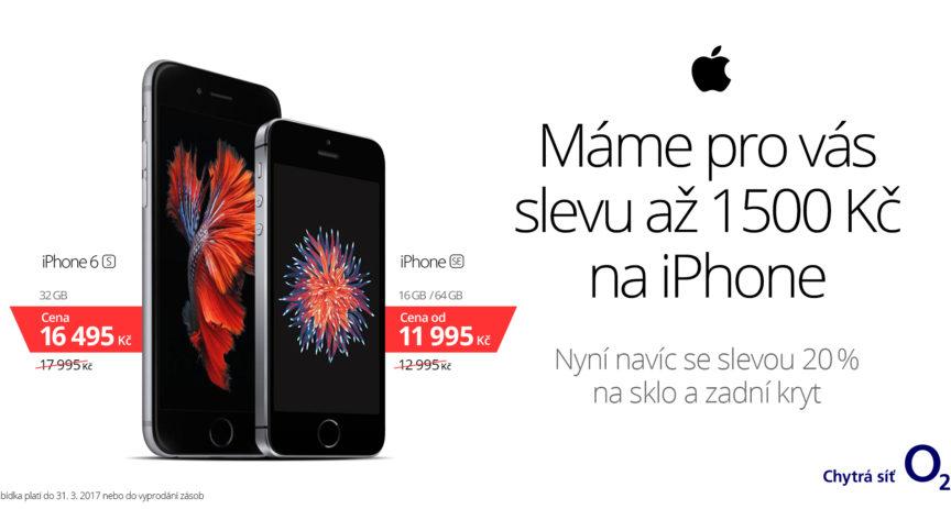 iPhone opět výhodněji a s originálním příslušenstvím k tomu