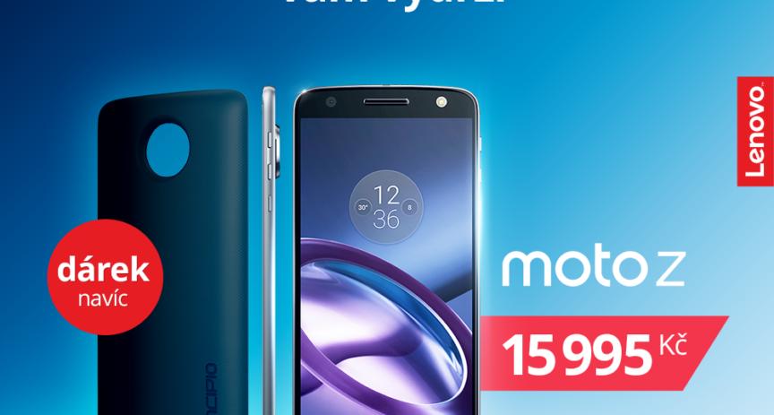 Moto Z s příslušenstvím Lenovo Mods a výhodné smartphony Honor u O2 se slevou