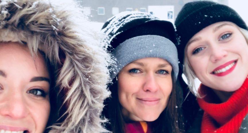 Emma Drobná natočila svůj první vánoční videoklip za podpory O2