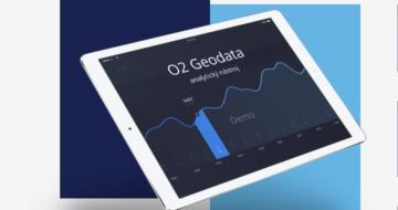 O2 Geodata ukazují anonymní údaje o pohybu lidí