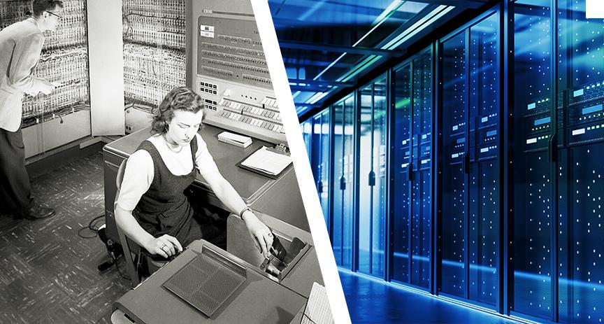Od sálového počítače k datovým centrům