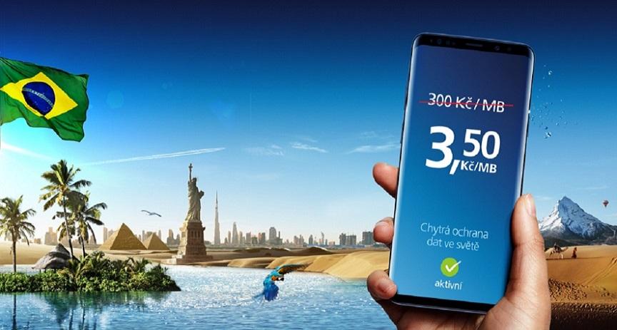 O2 přichází s nejvýhodnější roamingovou nabídkou na trhu