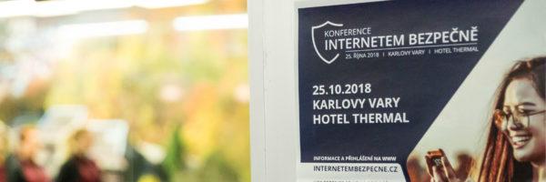 O2 se zúčastnilo karlovarské konference Internetem Bezpečně 2018
