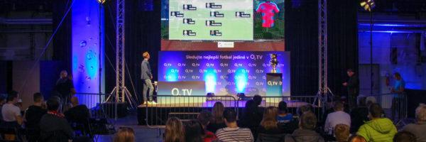 Viktoriáni své borce podpořili v plzeňské O2 TV fanzoně