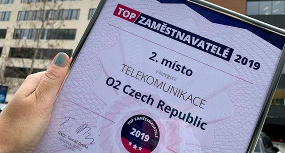 O2 patří mezi nejlepší tuzemské zaměstnavatele, rozhodli studenti
