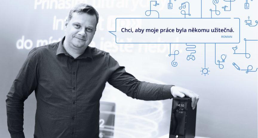 Roman Bacík: Chci, aby moje práce byla někomu užitečná