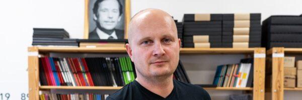 Jiří Vogel: Naše papírové šperky chceme díky online světu dostat za hranice