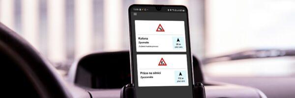 O2 pokračuje s projektem C-Roads a představuje samostatnou mobilní aplikaci pro vzájemnou komunikaci automobilů