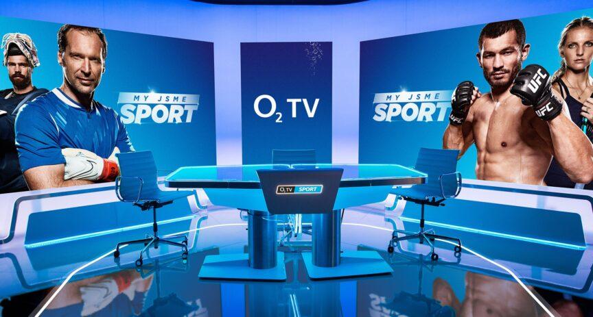 Moderní design, velké LED panely i virtuální realita. Stanice O2 TV Sport představuje nové studio