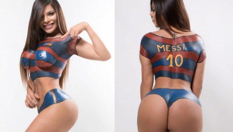 Brazilský nahý model